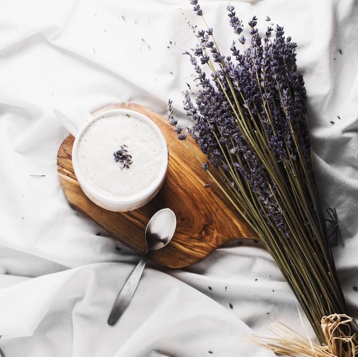 Lavender Tea Latte