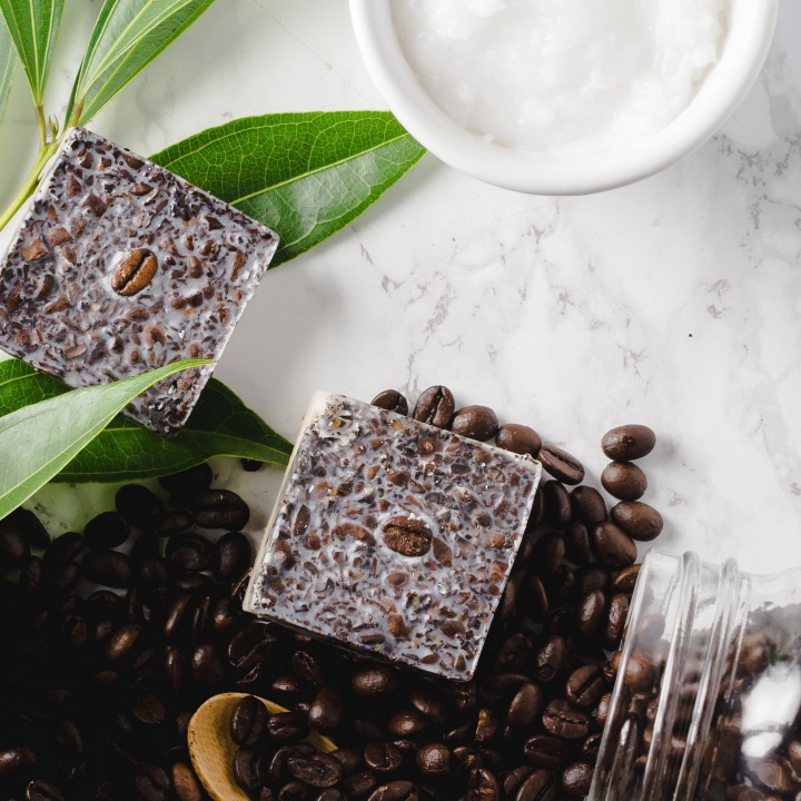 Vanilla Latte Exfoliating Bath Bar
