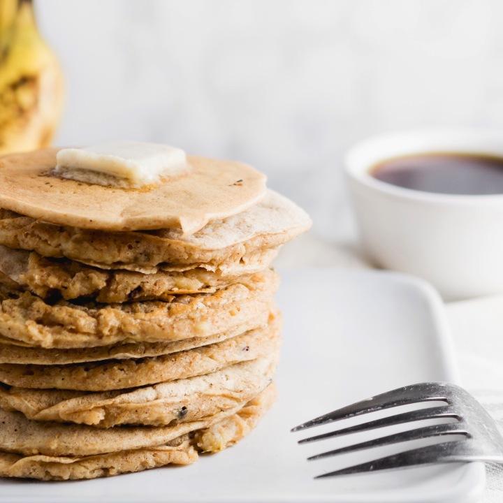 Spiced Banana-Nut Pancakes