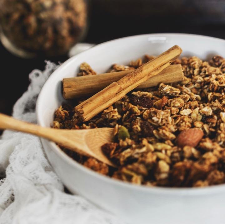 Sugar-Free Chai SpicedGranola