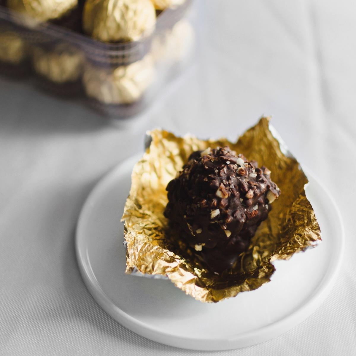 Vegan Ferrero Rocher