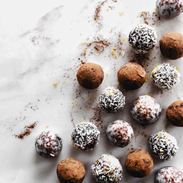 Raw Chocolate OrangeSnowballs