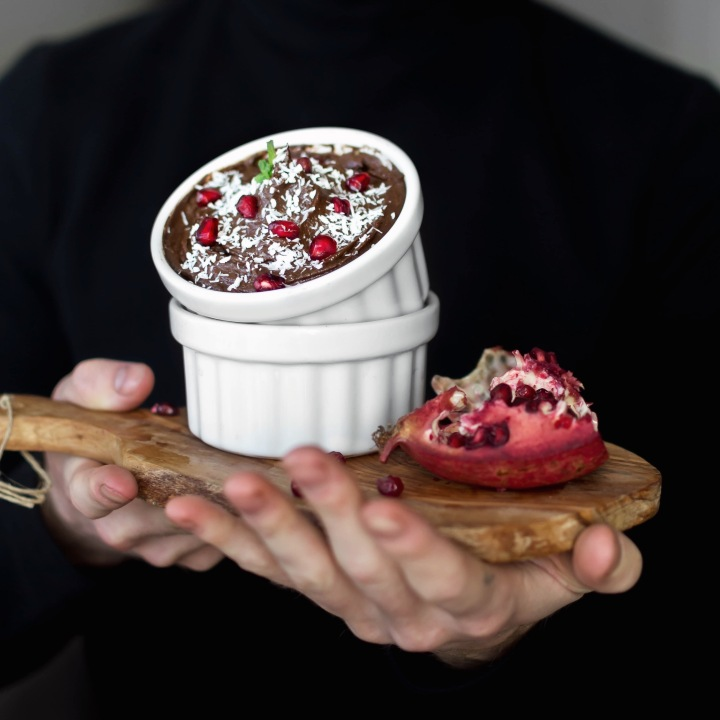 Mint-Chocolate Avocado Pudding