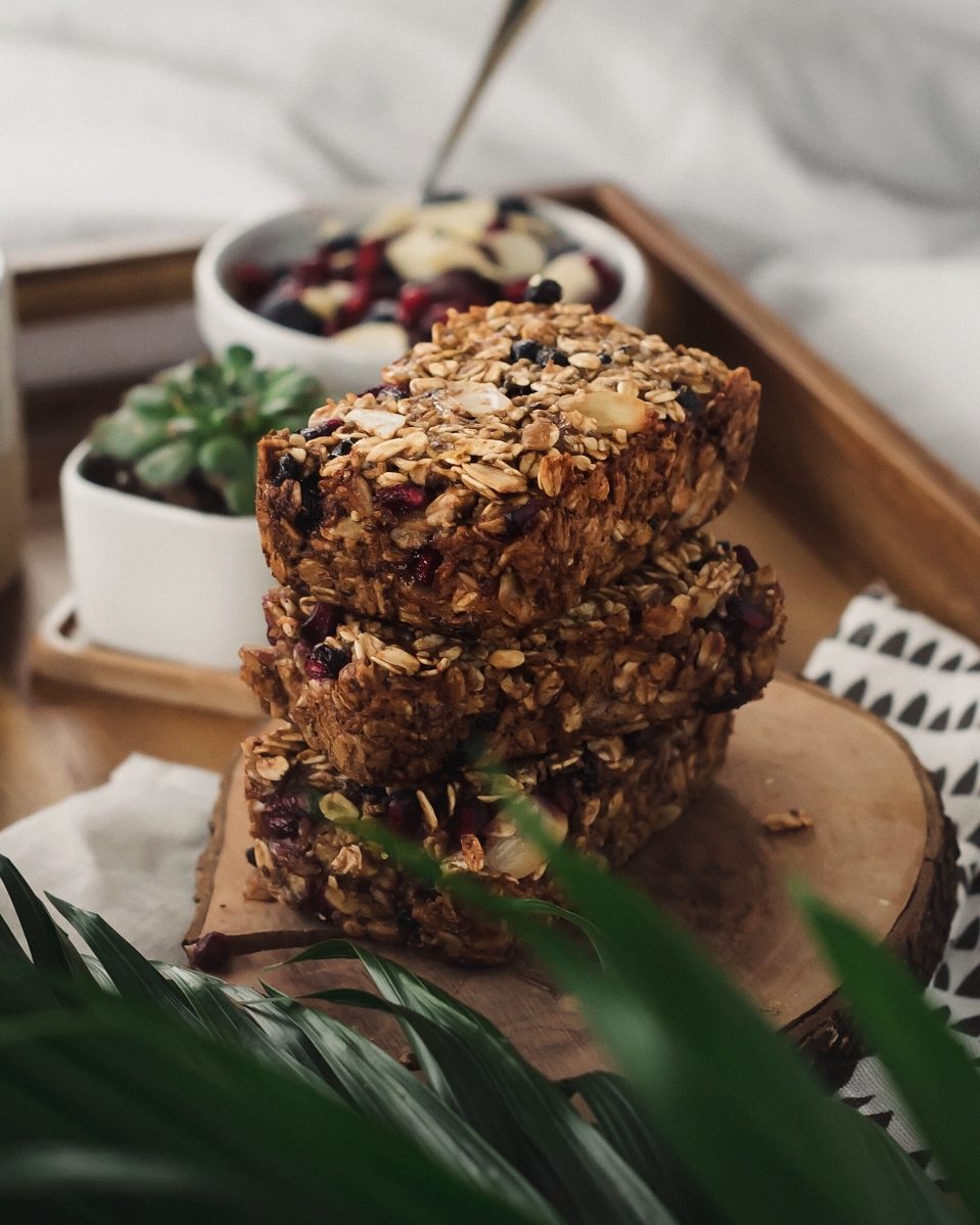 Baked Oatmeal Breakfast Bars