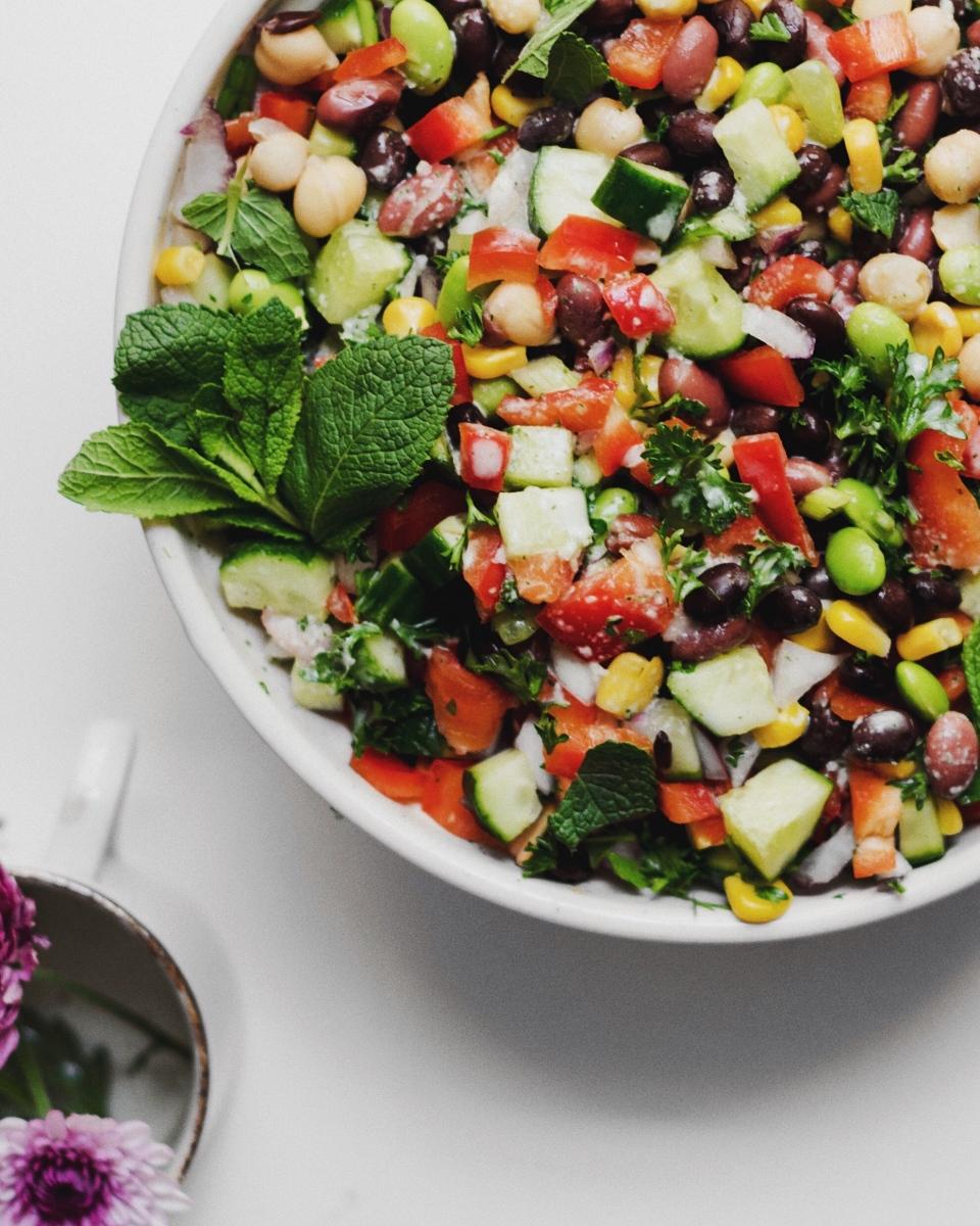 3-Bean Mojito Summer Salad