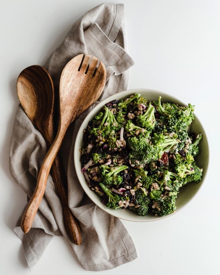 Easy Broccoli Slaw