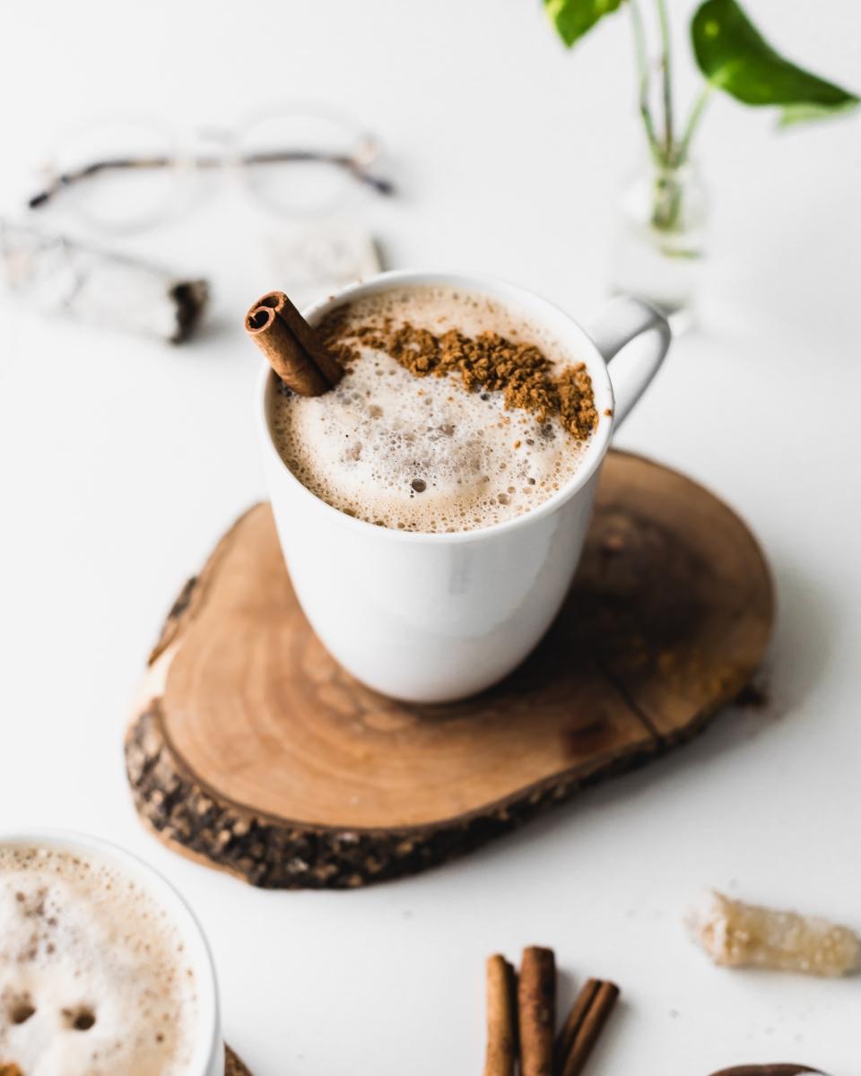 Caramel Cappuccino (vegan)